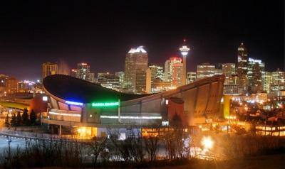 Pengrowth Saddledome in Calgary, Canada